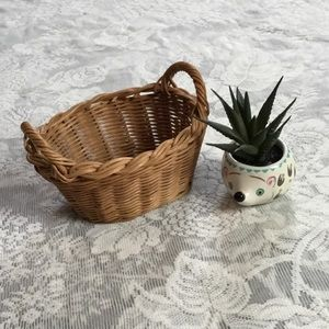 Boho Mini | Wicker Laundry Basket